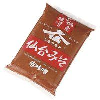 仙台味噌醤油 業務用 仙台みそ 赤 4901685010123 1ケース 1kg×10PC(直送品)