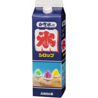 スミダ飲料 業務用 かき氷シロップブルーハワイ 1303 1ケース 1L×12本(直送品)