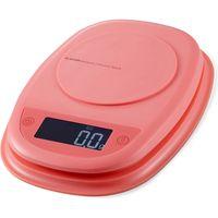 キッチンスケール デジタル はかり 最小0.1g 最大2kg 自動電源オフ バックライト ピンク HCS-KS01PN エレコム 1個(直送品)