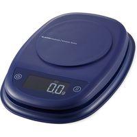 キッチンスケール デジタル はかり 最小0.1g 最大2kg 自動電源オフ バックライト ネイビー HCS-KS01NV エレコム 1個(直送品)