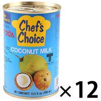 ココナッツミルク ココナツミルク(4号缶)400g 1セット(12缶) ユウキ食品