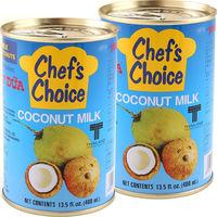 ココナッツミルク ココナツミルク(4号缶)400g 1セット(2缶) ユウキ食品