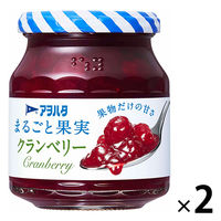 アヲハタ まるごと果実 クランベリー 2個