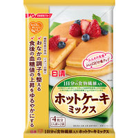 """日清フーズ 日清 """"カラダに、おいしいこと。"""" 1日分の食物繊維入り ホットケーキミックス 160g 1個"""