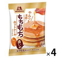 森永製菓 もちもちホットケーキミックス 1セット(4袋)