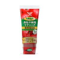 ハグルマ 有機栽培トマト使用 食塩不使用 ヘルシーケチャップ 290g 1本