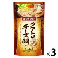 ダイショー クアトロチーズ鍋スープ 750g 3袋