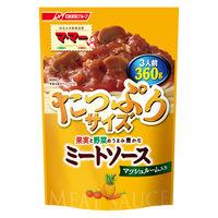 日清フーズ マ・マー 果実と野菜のうまみ豊かなミートソース マッシュルーム入り(360g) ×1個