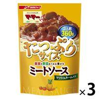 日清フーズ マ・マー 果実と野菜のうまみ豊かなミートソース マッシュルーム入り(360g) ×3個