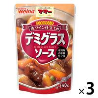 日清フーズ マ・マー クッキングソース 赤ワイン仕立てのデミグラスソース(160g) ×3個