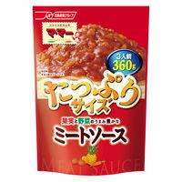 日清フーズ マ・マー 果実と野菜のうまみ豊かなミートソース(360g) ×1個