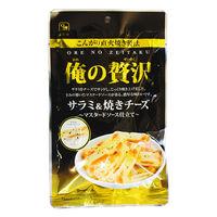 カモ井食品工業 俺の贅沢 サラミ&焼きチーズ 1袋