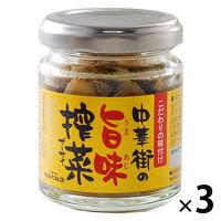 横浜大飯店 中華街の旨味搾菜 70g 1セット(3個)
