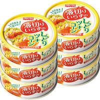 ホテイ 液切りいらずのしっとりツナコーン缶55g 2個(3缶パック×2個)
