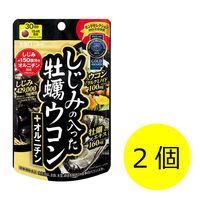 井藤漢方製薬 しじみの入った牡蠣ウコン+オルニチン 1セット(30日分×2個) 240粒 サプリメント
