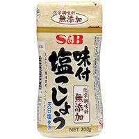 S&B 味付塩こしょう化学調味料無添加 200g 1個