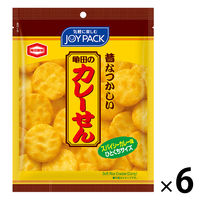 亀田製菓 亀田のカレーせんミニ 52g <JOYPACK> 1セット(6袋)
