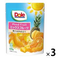 ドール フルーツパウチ ミックスフルーツ 120g 1セット(3個)