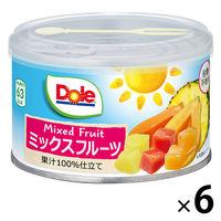 ドール ミックスフルーツ100%ジュース 227g 6個