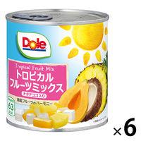 ドール トロピカルフルーツミックス ナタデココ入り 430g 6個