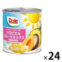 ドール トロピカルフルーツミックス ナタデココ入り 430g 24個