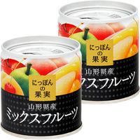 国分グループ本社 KK にっぽんの果実 山形県産 ミックスフルーツ 1セット(2個)
