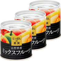 国分グループ本社 KK にっぽんの果実 山形県産 ミックスフルーツ 1セット(3個)