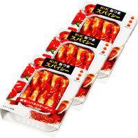 国分グループ本社 KK 缶つまスパイシー 激辛ハバネロサーディン 1セット(3個)