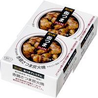 国分グループ本社 KK 缶つま 鹿児島県産 赤鶏さつま炭火焼 1セット(2個)