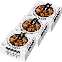 国分グループ本社 KK 缶つま 鹿児島県産 赤鶏さつま炭火焼 1セット(3個)