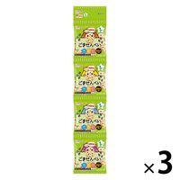 【1歳頃から】和光堂 1歳からのおやつ+DHA ごませんべい4連 1セット(3個:6g×12袋)