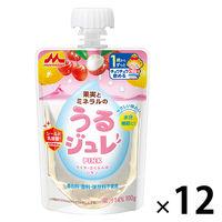【1歳頃から】うるジュレ PINK 100g 1セット(12個) 森永乳業