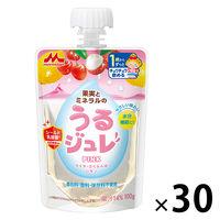 【1歳頃から】うるジュレ PINK 100g 1セット(30個) 森永乳業