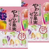 ノーベル製菓 やわらか果実ゼリー 1セット(2個入)