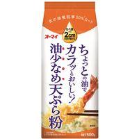 ニップン 油少なめ天ぷら粉 500g 1個