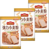 ニップン オーマイ ふっくらパン強力小麦粉 1kg 1セット(3個)