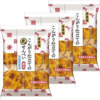 金吾堂製菓 丸せんべい醤油 1セット(3袋)