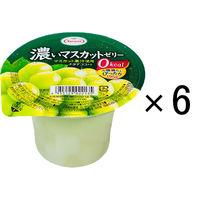 たらみ 濃いマスカットゼリー 0kcal 195g 1セット(6個入)
