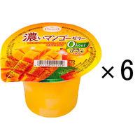 たらみ 濃いマンゴーゼリー 0kcal 195g 1セット(6個入)