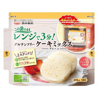 熊本製粉 グルテンフリー ケーキミックス プレーン 80g 1個