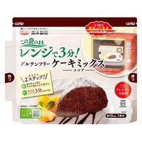熊本製粉 グルテンフリー ケーキミックス ココア 80g 1個