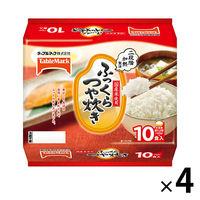 パックごはん ふっくらつや炊き180g×10食パック 4セット 計40食 テーブルマーク 包装米飯