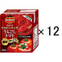 デルモンテ リコピンリッチうらごしトマト 300g 1セット(12個)