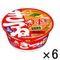 東洋水産 赤いきつねうどん 関西 96g 6個