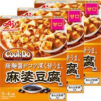 味の素 Cook Do(中華合わせ調味料)あらびき肉入り麻婆豆腐用甘口 3個