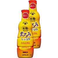 ヒゲタ 米麹でまろやかまろみしょうゆ 360ml 2本