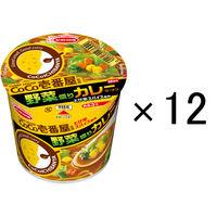 エースコック CoCo壱番屋監修ミニ 野菜盛りカレーラーメン 40g 12個