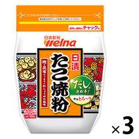日清フーズ 日清 たこ焼粉 (500g) ×3個