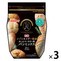 日清フーズ 日清 メゾンカイザー監修 ホームベーカリー用パンミックス (580g) ×3個