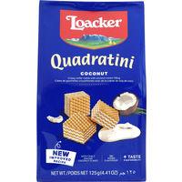 Loacker(ロアカ—) クワドラティーニ ウエハース ココナッツ 125g 1袋